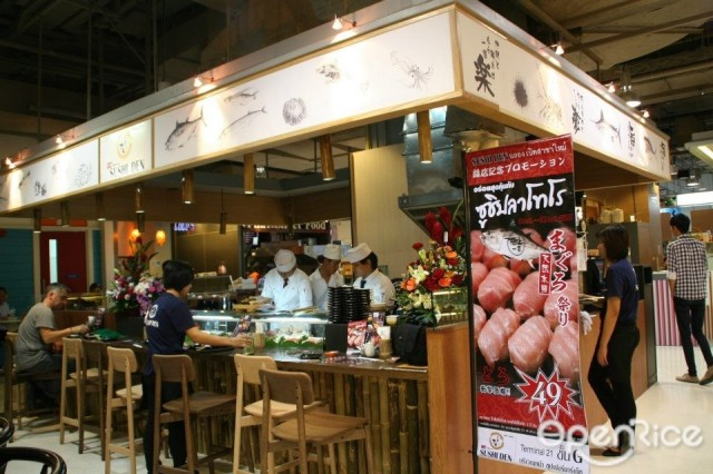 Image result for sushi den terminal 21